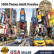1000 piece Jigsaw Adult Puzzles Learning Education Toys Game Usa Growups Puzzles
