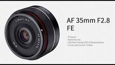 Samyang 35mm f2.8 AF FE Pancake Lens - for Sony FE