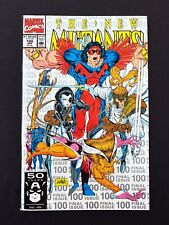 THE NEW MUTANTS #100 MARVEL COMICS 1991 NM+ SILVER EDITION