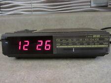 Vintage Magnavox Electronic FM/AM Clock Radio Model D 3040 TESTED!