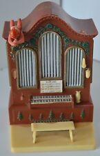 """Vintage Celluloid Angel Organ Piano """"Silent Night"""" Musical"""