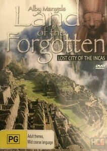 Alby Mangels DVD Land of The Forgotten - LOST CITY OF THE INCAS - Rare Movie R4