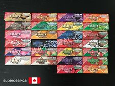 Juicy Jay's 1 1/4 Rolling Papers *26 Flavor Choices* - Pick Your Own 3 Packs