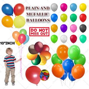 """Eid Mubarak Ramadan Kare,10-100 ,10"""" PEARL Metallic BALLOONS BALLON helium EID"""