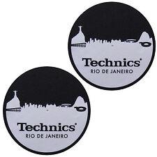 Slipmats TECHNICS / DMC - Skyline RIO DE JANEIRO ( 1 Par / 1 par) mrio NUEVO