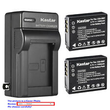 Kastar Battery Wall Charger for Panasonic CGA-S007 & Panasonic LUMIX DMC-TZ4