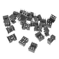 6 Pin DIP IC Socket Adaptor Solder Type (10 PCS) PC Mount... USA SELLER!!!