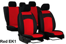 RENAULT CLIO Mk4 HATCHBACK 2012 ONWARDS ECO LEATHER TAILORED SEAT COVERS