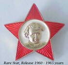 1960 RUSSIAN SOVIET MILITARY RED STAR AWARD MEDAL ORDER COMMUNIST INSIGNIA BADGE