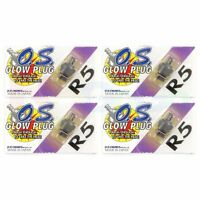 4PCS OS GLOW PLUG No #8 # OS71608001 **O.S Engines Genuine Parts**
