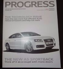 Audi Progress Magazine November 2009 A5 Sportback