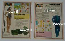 Pamela Sue Martin magazine paperdoll vintage 1985-6 uncut Dynasty