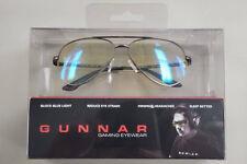 Gunnar Optiks Advanced Computer / Gaming Eyewear - Maverick Gunmetal - Amber NEW