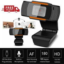 New listing Webcam Usb2.0 Computer Cam For Pc Laptop Desktop Video Camera W/ Microphone Q8S9