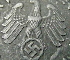 NAZI  5 cent penny  ww2 .The real coin,no fakes!!'''/.,;;[