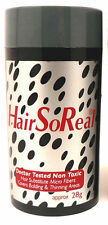 HSR - HAIR SO REAL 1 PC BROWN Get Rid of Bald Spots SAME DAY FREE SHIPPING