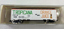 Model Power N 3720 Refrigerator Car Tropicana Orange Juice TPIX #106