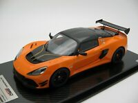 1/18 scale Tecnomodel Lotus Exige 380 Cup Gloss Orange 2018 TM18-112B