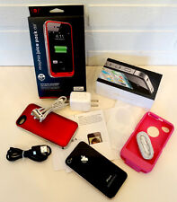 Verizon iPhone 4 Black 16GB SMARTPHONE Camera Phone &MORE! / Very Clean & WORKS!