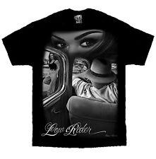 Lowrider Cholo Chola Chicano Art David Gonzales DGA T Shirt