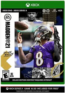 Madden NFL 21: Deluxe Edition - Microsoft Xbox One [EA Sports Ultimate Team] NEW