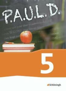 5. Schuljahr, (2013, Gebundene Ausgabe) P.A.U.L.D. Paul D Deutsch Zustand akzept