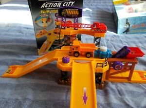 Realtoy/Asda Metro Action City Construction Site Play set with dumpster truck
