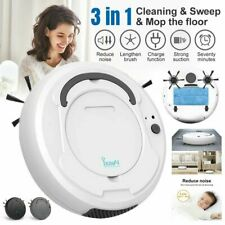 3 in 1 Smart Sweep Robot 1800Pa Vacuum Cleaner Floor Dust Auto Suction Sweeper