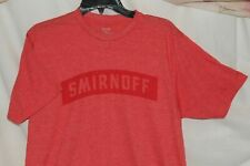 Smirnoff T Shirt X Large Exclusively for Everybody Red ~~~  BRAND NEW