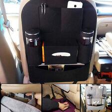 New Auto Car Seat Back Multi-Pocket Storage Bag Organizer Holder Accessory Black