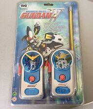 VINTAGE#Gundam Wing Walkie Talkies Colombia Telecommunications SUNRISE#EUROPEAN