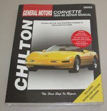 Reparaturanleitung Repair Manual Chevrolet Corvette C4 Baujahre 1984 - 1996!