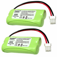 2-Pack HQRP Rechargeable Battery for AT&T C/E/TL CRL Series Home Cordless Phones