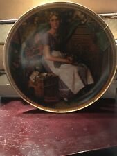 Norman Rockwell's Dreaming In The Attic Collector's Plate