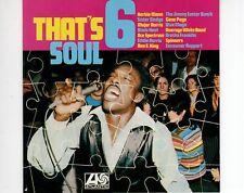 CD THAT'S SOUL 6atlantic EX (A0929)