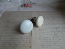 French 2 of porcelain cabinet door knobs simple classic vintage to project