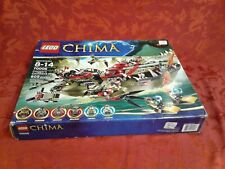 rare Lego 70006 CRAGGERs COMMAND SHIP Legends of Chima Complete box Manual gift