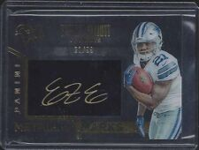 1/1 EZEKIEL ELLIOTT 2016 BLACK GOLD METALLIC MARKS ON CARD AUTO #D 21/99 JSY #21