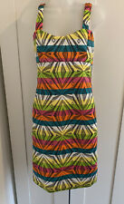 BOUTIQUE LADIES AZTEC PRINT DRESS SIZE 14 New With Tags Womens Weather Wear