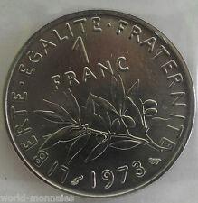 1 franc semeuse 1973 : FDC : pièce de monnaie française