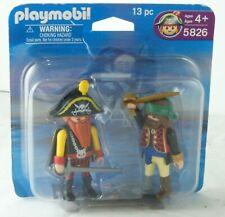 Playmobil 5826 Captain Red Beard Corsair Peg Leg Pirate Duo Adventure Pack
