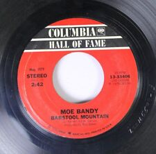 Country 45 Moe Bandy - Barstool Mountain / It'S A Cheating Situation On Columbia