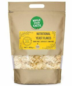 Nutritional Yeast Flakes (Nooch)   With Vitamin B12   GMO Free   Dairy Free