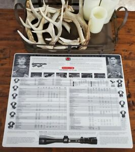 Vintage Redfield Scopes Advertising. Counter Mat. 1997