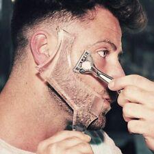 Perfect Beard Comb Men Face Care Transparent Comb Shaper Beard Styling Beard