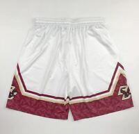 New Under Armour Boston College Eagles Armourfuse Basketball Short Men's L White