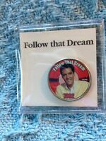 "NOS ELVIS PRESLEY MYSTIC STAMP COLORIZED QUARTER GREATEST ""FOLLOW THAT DREAM"""
