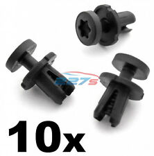10x 6mm Clips de Ajuste de Plástico Audi Torx Cabeza - 7L6868307 Adornos, cubre & Monturas