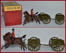 "Britains Pre-War ""#1330 General Service Limber & Wagon-Royal Engineers"" *EB-430*"