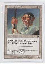 1999 Magic: The Gathering - Starter Deck Base #28 Venerable Monk Magic Card g8o